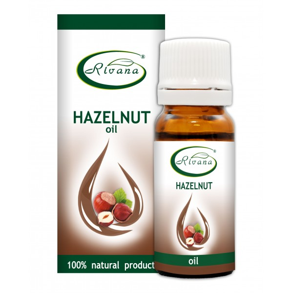 Hazelnut oil - 100% natural product without any preservatives