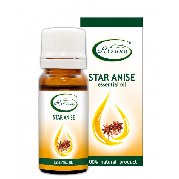 Star Aniseed - Illicium Verum Fruit- 100 % pure essential oil
