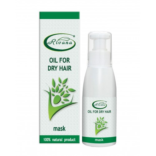 Dry hair oil-mask