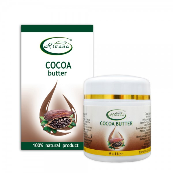 Cocoa butter-100% natural product without preservatives.