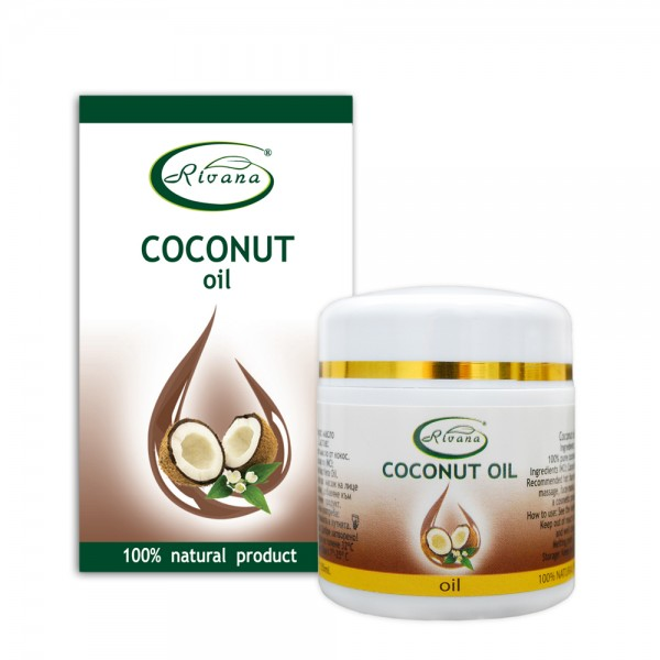 Coconut oil-100% natural product without preservatives.