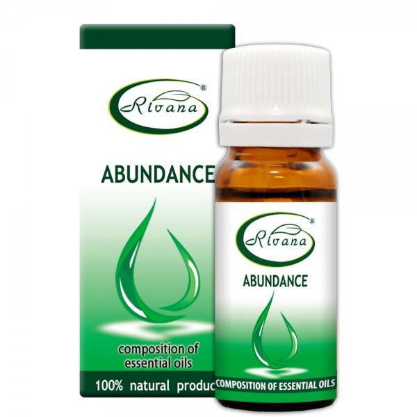 Abundance - Composition of 100% pure essential oils.