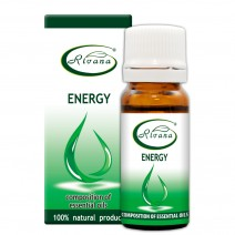 Energy - Composition of 100% pure essential oils.