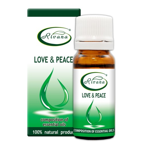 Love and Peace - Composition of 100% pure essential oils.