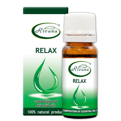Relax-Composition of 100% pure essential oils.