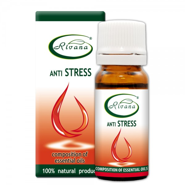 Anti Stress-Composition of 100% pure essential oils.