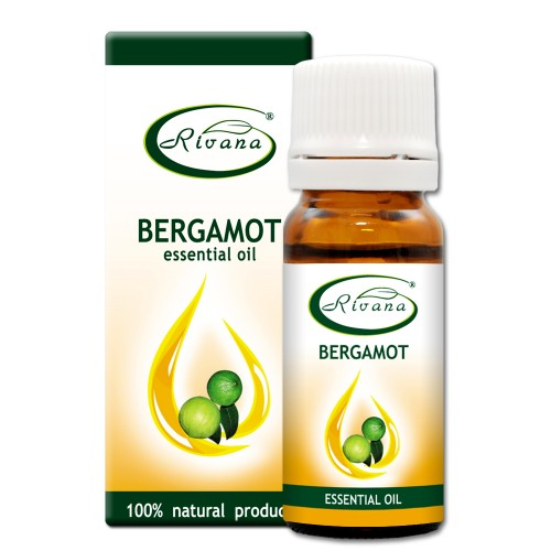 Bergamot Citrus bergamia oil - 100% essential oil.