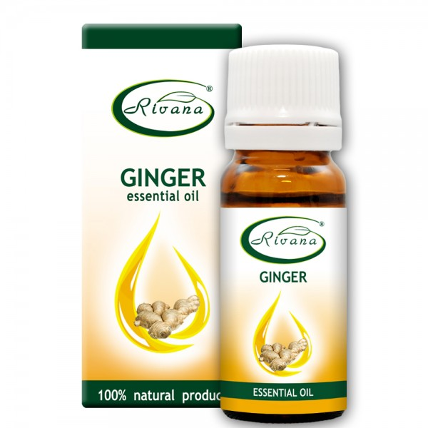 Ginger - Zingiber officinale oil - 100% essential oil.
