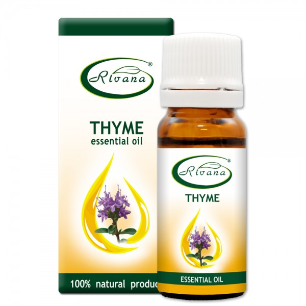 Thyme - Thymus vulgaris oil - 100% Essential Oils.