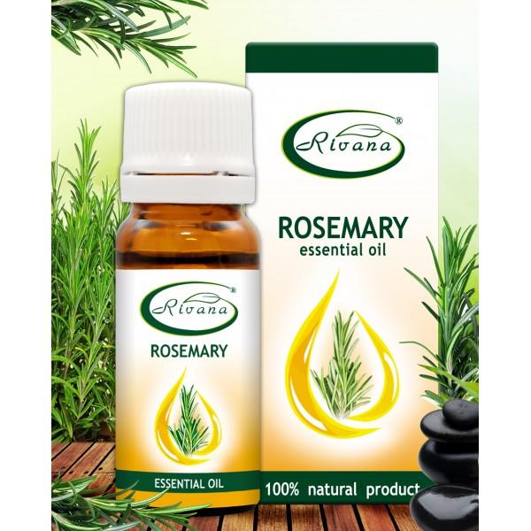 Rosemary - Rosmarinus officinalis oil - 100% Essential Oil.