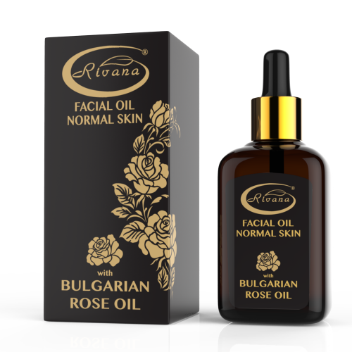 Facial oil with Bulgarian rose oil for normal skin