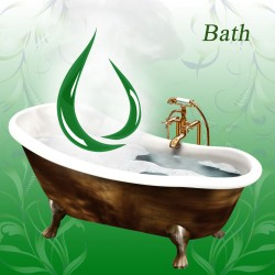 How to put essential oils in the bath?