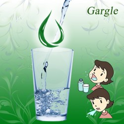 How to make a gargle?