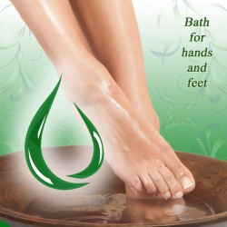 How to make a bath for hands and feet?