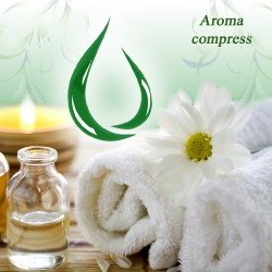 How to make an aroma compress?